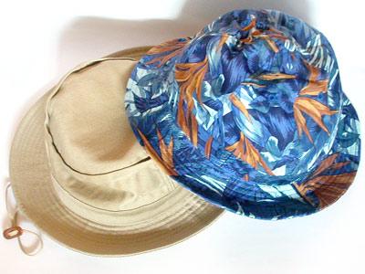 サファリ帽とメトロハット
