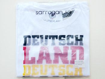 ドイツ代表応援Tシャツ