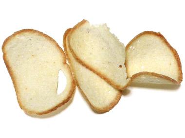 フランスパン工房シュガーバター味 中味