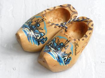 木靴のマスコット