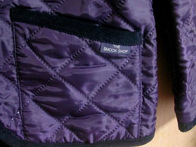 Smockshop キルティング ジャケットのポケット