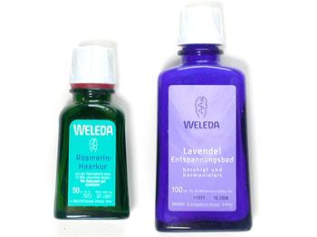 WELEDAの入浴関連製品