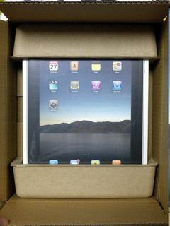 iPad梱包